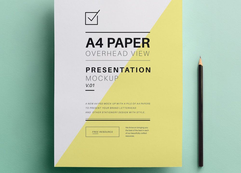 A4 Overhead Paper